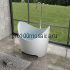 NSB-12090 Ванна из POLYSTONE (акриловый камень) размер,мм: 1200*905*1100 (NS BATH)