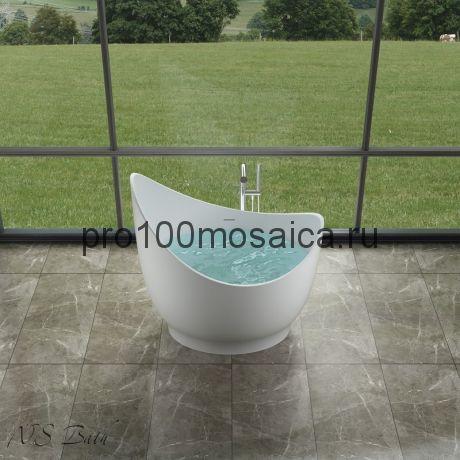 NSB-12091 Ванна из POLYSTONE (акриловый камень) размер,мм: 1200*900*1165 (NS BATH)