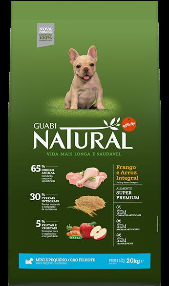 Guabi Natural для щенков мелких пород 1 кг (ЦЫПЛЕНОК/РИС)