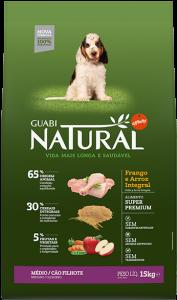 Guabi Natural для щенков средних пород 2,5 кг