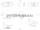 NSB-16700 Ванна из POLYSTONE (акриловый камень) размер,мм: 1600*700*1110 (NS BATH)