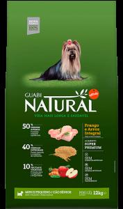 Guabi Natural для пожилых собак мелких пород 2,5 кг