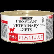 Pro Plan VD Feline DM Diabetes Management - Диетические консервы для кошек при сахарном диабете (195 г)