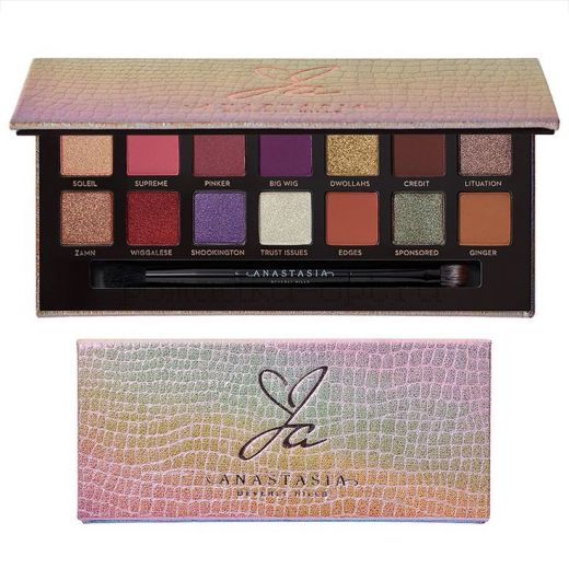 Anastasia x Jackie Aina Eyeshadow Palette for Fall 2019