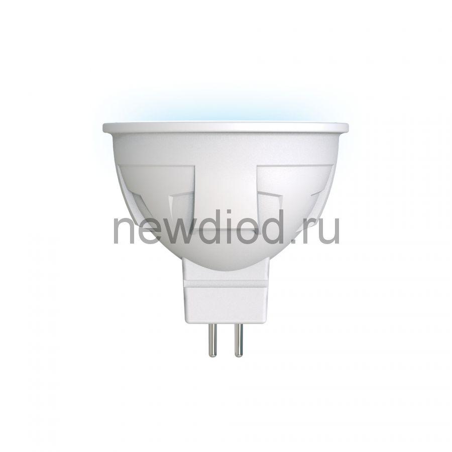 Лампа сд диммируемая LED-JCDR 6W/NW/GU5.3/FR/DIM матовая Серия ЯРКАЯ 4000K Uniel