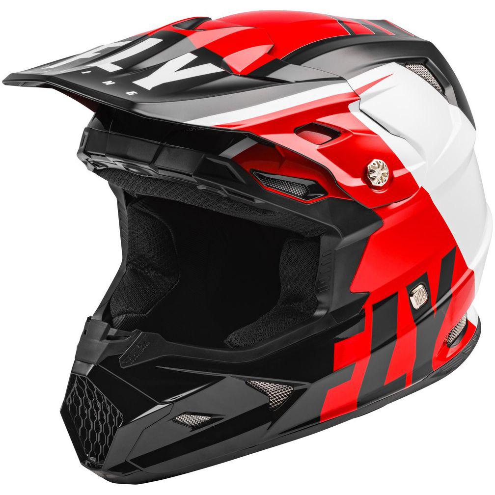 Fly Racing - 2020 Toxin Mips Transfer шлем, красно-черно-белый