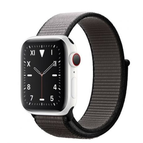 Apple Watch Edition Series 5 White Ceramic Case 44mm GPS + Cellular Anchor/Gray with Sport Loop