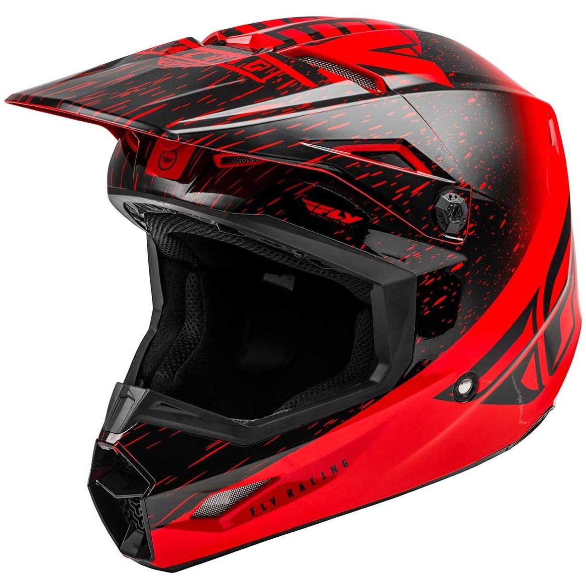 Fly Racing - 2020 Kinetic K120 шлем, красно-черный