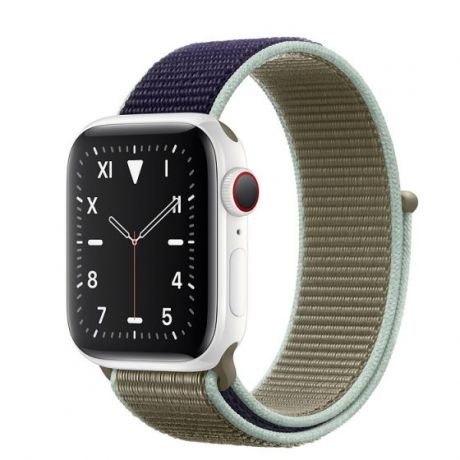 Apple Watch Edition Series 5 White Ceramic Case 44mm GPS + Cellular Khaki with Sport Loop