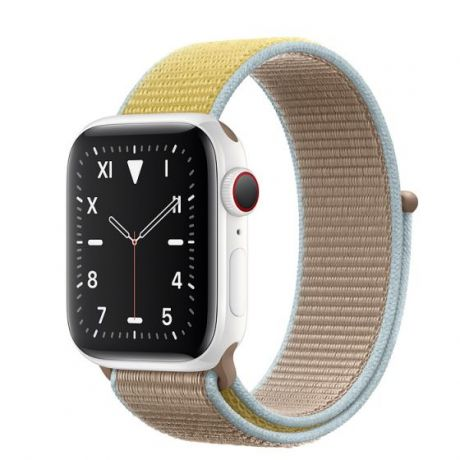 Apple Watch Edition Series 5 White Ceramic Case 44mm GPS + Cellular Camel with Sport Loop