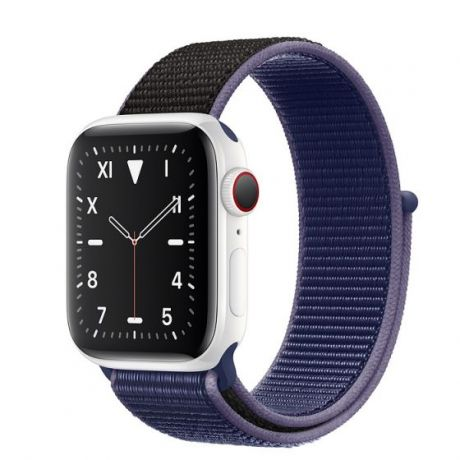 Apple Watch Edition Series 5 White Ceramic Case 44mm GPS + Cellular Midnight/Blue with Sport Loop