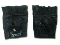 Перчатки кожаные для тяжёлой атлетики. Размер L. 16089