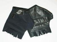 Перчатки велосипедные без пальцев, материал кожа, лайкра. Размер XXL..16912