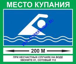 Место купания