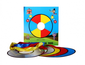 Изменение цвета дисков - Magic Colour Changing Discs
