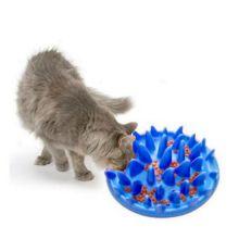 Интерактивная кормушка Dog & Cat Interactive Feeder, Цвет: Голубой