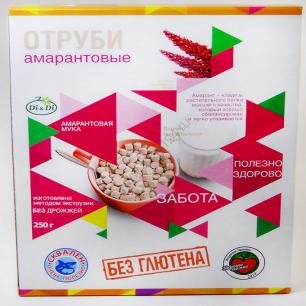 Отруби амарантовые, диетические, 250 гр