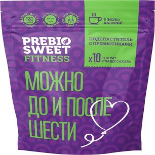 Подсластитель на основе стевии и эритрита с пребиотиками, 150 гр