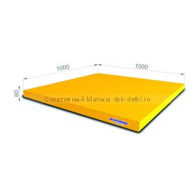 Мат 100х100х6 см