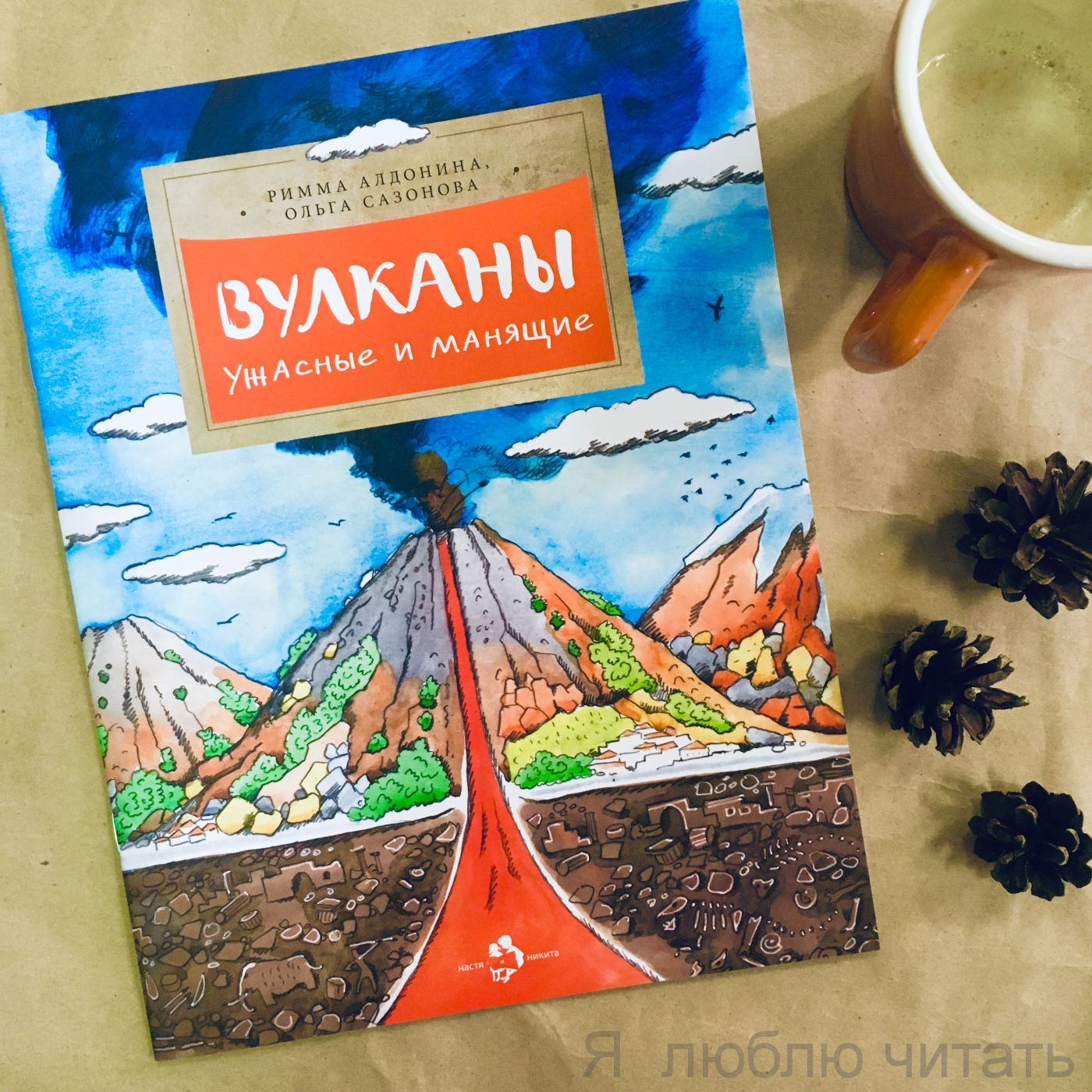 Книга «Вулканы. Ужасные и манящие»
