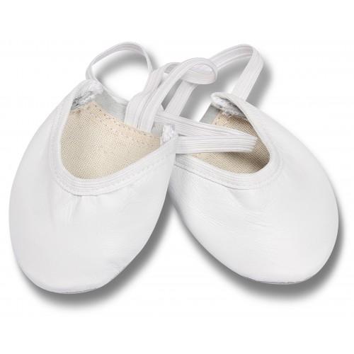 Получешки кожаные GS103 белые