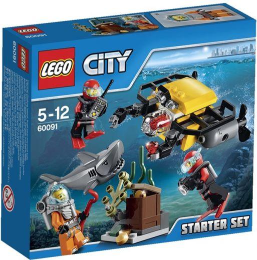 Исследование морских глубин ЛЕГО Город LEGO City 60091