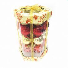 Подарочный набор ёлочных украшений Шары, 35 шт