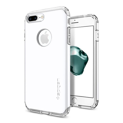 Чехол Spigen Hybrid Armor для iPhone 8 Plus белый