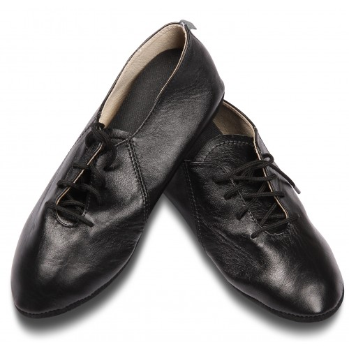 Джазовки кожаные GS104 черные