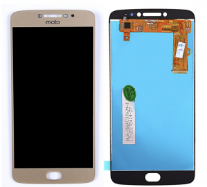 LCD (Дисплей) Motorola Moto E4 Plus (в сборе с тачскрином) (gold) Оригинал