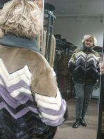 Бомбер из норки купить в Москве Италия фото
