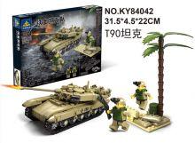 Конструктор танк Т-90 Lego creator реплика 296 деталей