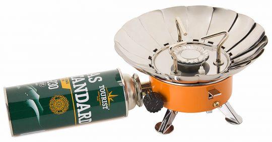 Плита TULPAN-S ТМ-400 малая с ветрозащитой