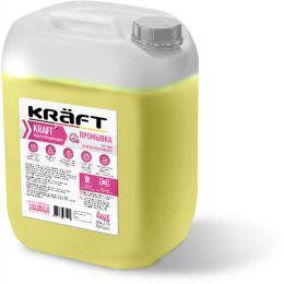 Промывка для  системы отопления от Глицерина KRAFT CleanProf  Glycerin 5 кг.