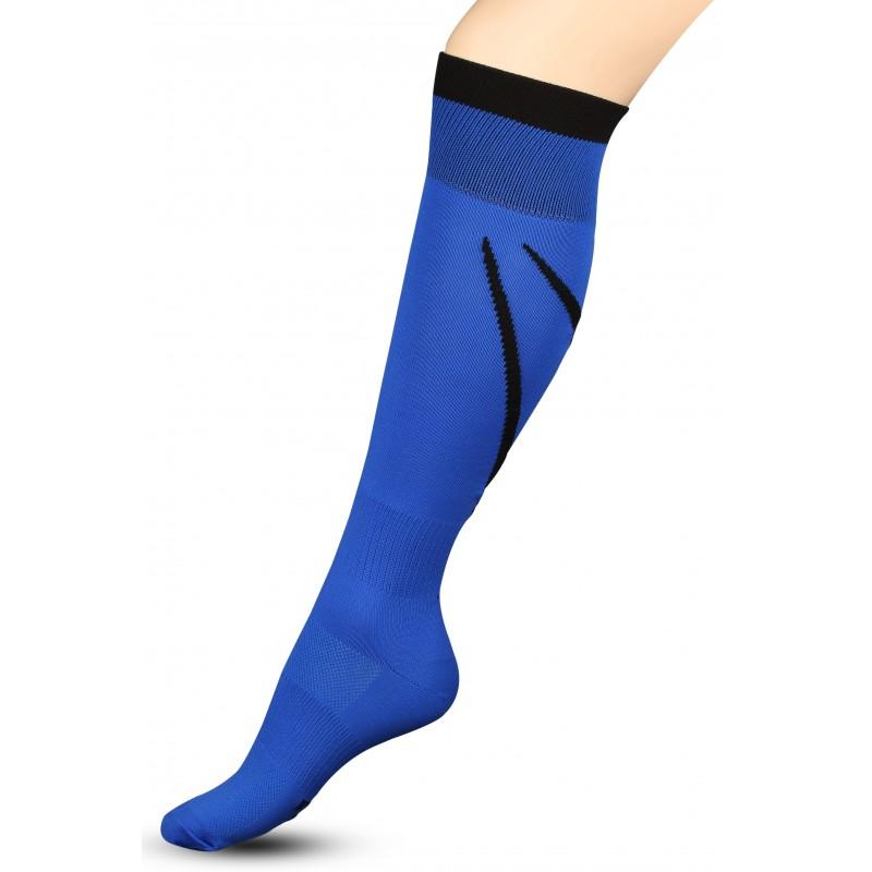 Гетры футбольные с рисунком Sport 3-1 INDIGO синие