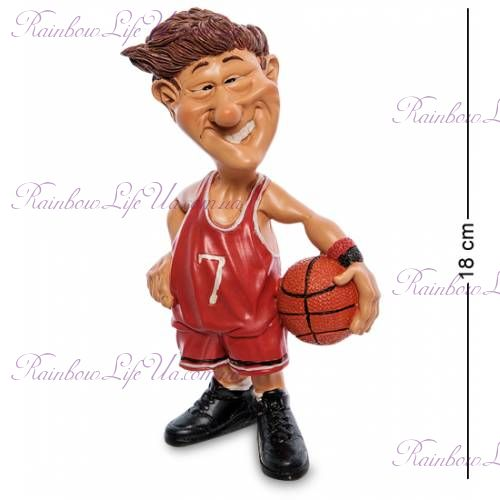"Статуэтка Баскетболист с мячом ""W.Stratford"""