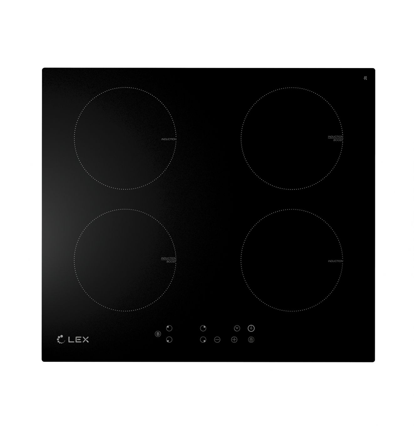 Индукционная варочная панель LEX EVI 640-1 BL (CHYO000181)