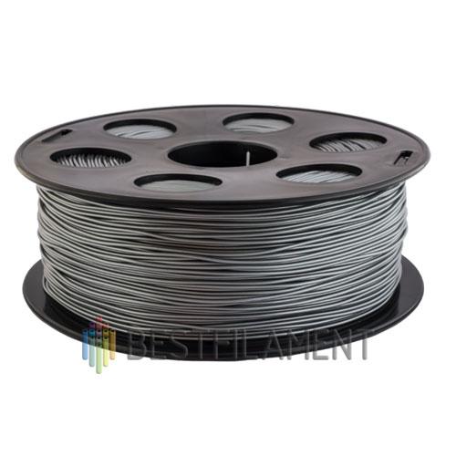 PLA пластик Bestfilament 1,75 мм, Серебристый металлик, 1 кг