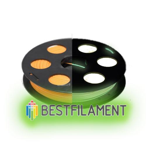 PLA-Lumi (светящийся) пластик Bestfilament 1,75 мм, 500 гр