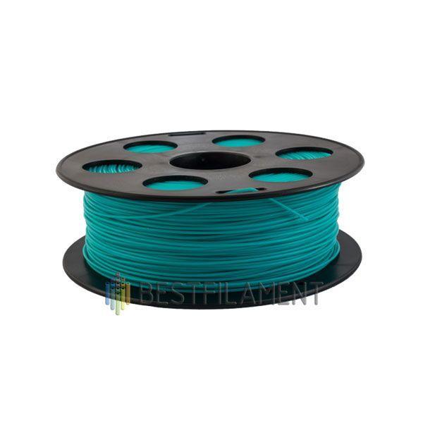 PLA пластик Bestfilament 1,75 мм, Изумрудный, 1 кг