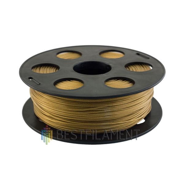 PETG пластик Bestfilament 1,75 мм, Золотистый металлик, 1 кг
