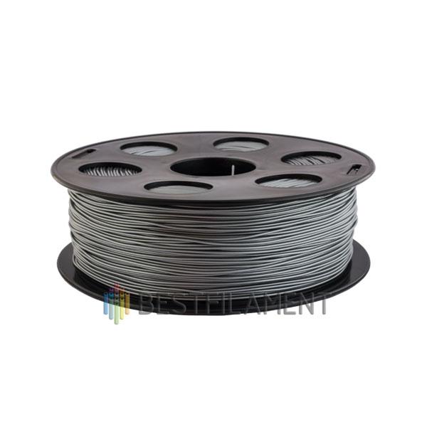 PETG пластик Bestfilament 1,75 мм, Серебристый металлик, 1 кг