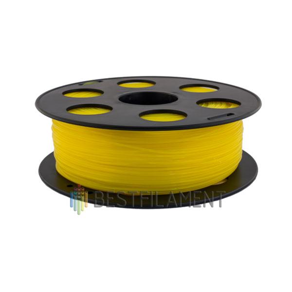PETG пластик Bestfilament 1,75 мм, Желтый, 1 кг