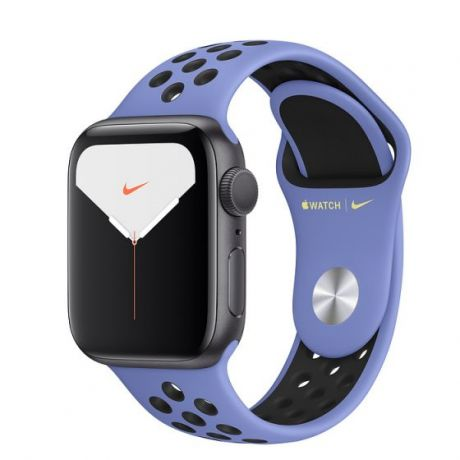 Apple Watch Nike Series 5 Space Gray Aluminum Case 40mm GPS Royal Pulse/Black with Nike Sport Band
