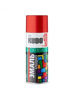 """Краска аэрозоль черная глянцевая 520 мл """"Kudo"""" KU-1002"""