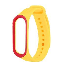 Ремешок для браслета Xiaomi Mi Band 4 желтый