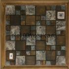 B08. Мозаика серия BRONZE соты  размер, мм: 298*298*8 (Happy Mosaic)