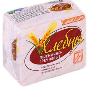 Хлебцы самарские пшенично-гречневые, 90 гр