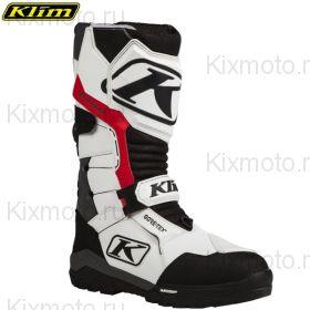 Ботинки Klim Havoc GTX Boa, Бело-чёрные