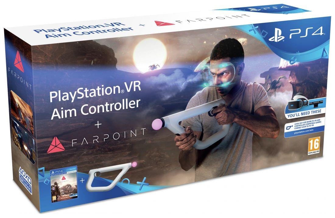 Контроллер прицеливания PS VR + игра Farpoint Aim Controller Ps4 (только для VR)